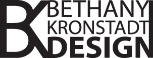 Web site design by Bethany Kronstadt Design